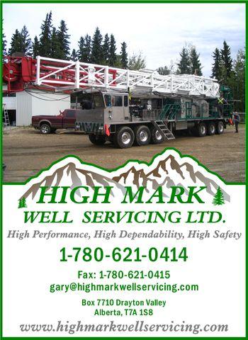 High Mark Well Servicing Ltd. Logo
