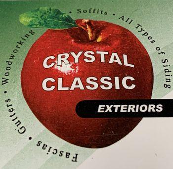 Crystal Classic Exteriors Logo