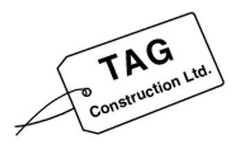 TAG Construction Ltd. Logo