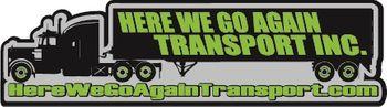 Here We Go Again Transport Inc Logo