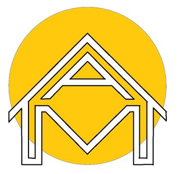 A M Construction LTD Logo