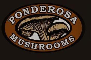 Ponderosa Mushrooms & Specialty Foods Logo